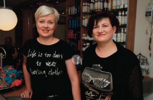 Anja en Hetty van Beautysalon Sandur Emmen
